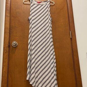 Jennifer Lopez asymmetric longdress size large NWT